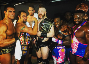 Backstage fight between The New Day and The League of Nation at Wrestlemania 32 - Sports Info Now