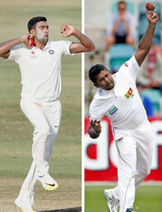 Best Test XI of the Decade Spinners - R Ashwin and Rangana Herath - Sports Info Now
