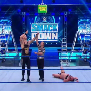 WWE Updates on King Corbin practice for MITB in a unique way at home