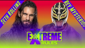 Seth Rollins vs Rey Mysterio (Extreme Rules Match) - Sports Info Now