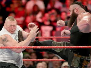 Top 5 WWE Superstars who hit their opponents for real - Brock Lesnar gives it back to Braun Strowman with full force - Sports Info Now