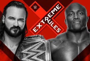 WWE Extreme Rules 2020 Match Card, Matches, and Prediction - Drew McIntyre vs Bobby Lashley (WWE Championship Extreme Rules match) - Sports Info Now