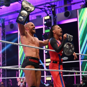 WWE Rumors Roundup - WWE Updates - plans for Shinsuke Nakamura and Cesaro as a SmackDown Tag Team champions - Sports Info Now