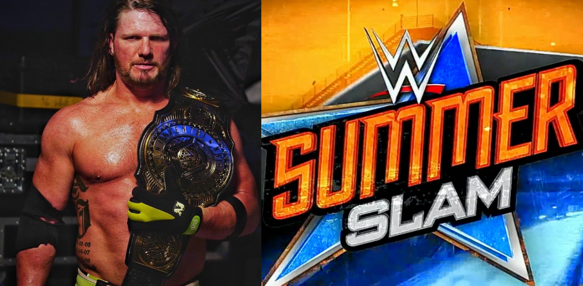 WWE Rumors Roundup - AJ Styles SummerSlam opponent, SummerSlam 2020 location update and more - Sports Info Now