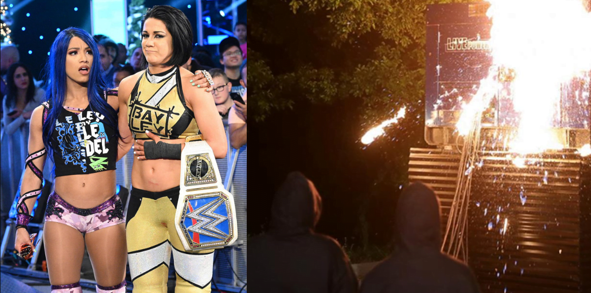 WWE Rumors Roundup - Speculation on Bayley and Sasha Banks break up, New RAW fiction name and more - Sports Info Now