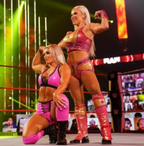 WWE Spoilers - Mandy Rose and Dana Brooke injured on WWE RAW - Sports Info Now