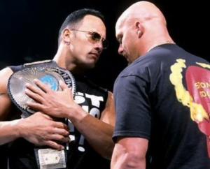 5 top WWE Rivalries of All Time - The Rock vs. Stone Cold - Sports Info Now
