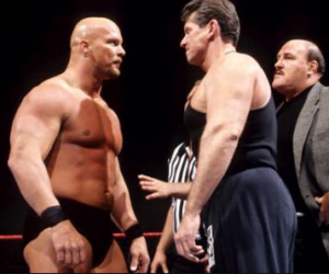 5 top WWE Rivalries of All Time - Vince McMahon and Stone Cold Steve Austin rivalry - Sports Info Now