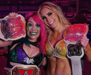 Asuka & Charlotte Flair def. Nia Jax & Shayna Baszler to become the new Women's Tag Team Champions at TLC 2020 - Sports Info Now