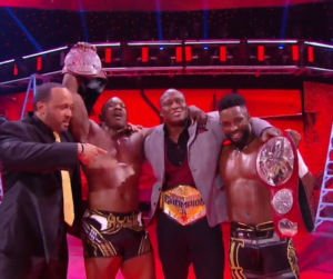 The Hurt Business def. The New Day to become the new Raw Tag Team Champions at WWE TLC 2020 - Sports Info Now