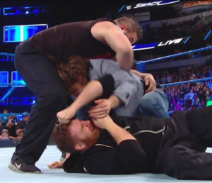 Top 5 shocking endings in WWE History - Kevin Owens and Sami Zayn brutalized Daniel Bryan on his WWE return - Sports Info Now