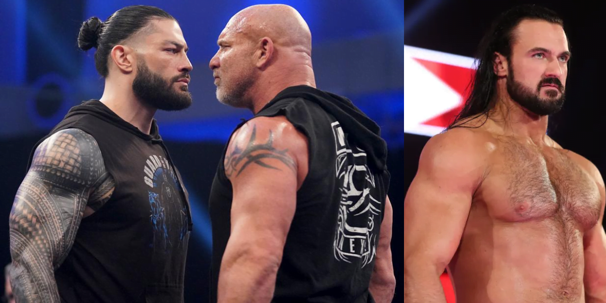 WWE Rumors Roundup - Goldberg and Roman Reigns exchanged words; Drew McIntyre hints Wrestlemania Match and more - Sports Info Now