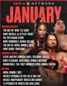 WWE News - WWE announces new shows for WWE Network - Sports Info Now