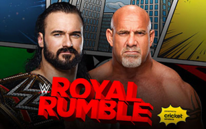 WWE Royal Rumble 2021 Matches, Match Card, and Result Prediction - Drew McIntyre vs. Goldberg (WWE Championship match) at Royal Rumble 2021 - Sports Info Now