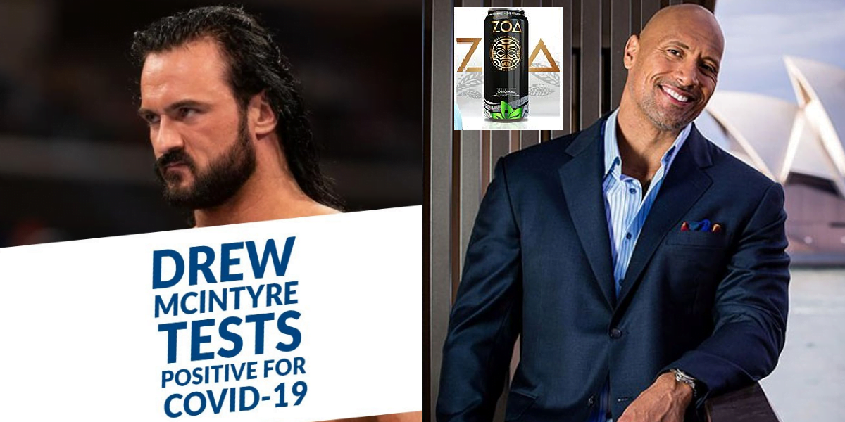 WWE Rumors Roundup - Drew McIntyre tested Positive for COVID, Rock launch new energy Drink and more - Sports Info Now